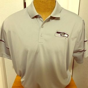 Gray NFL Seahawks Dri Fit Polo XXL 2e397c2fe